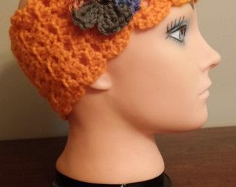 Orange  headband/earwarmer