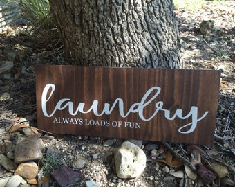 Laundry / Always loads of fun