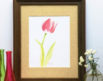 Wall art - Wall Decor - Painting - Tulip - Floral Art - Home Decor