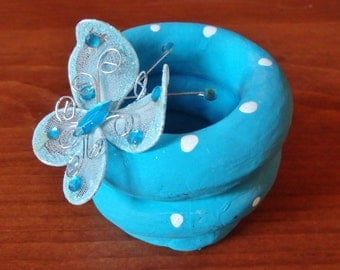 """Creating With Clay Kit(Deluxe Group Kit)""""BUTTERFLY BOWL""""(A Pottery Class in a Bag)this kit includes supplies for ten"""