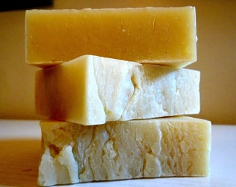 Grade A Shea Butter Natural Handmade Soap (Vegan) 85% Organic Ingredients Unscented