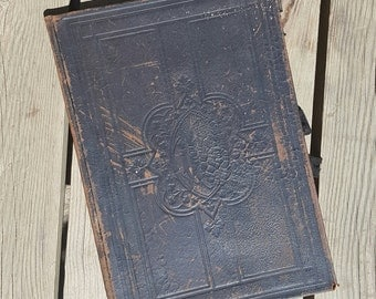 "Book liturgical ""Missae Pro Defunctis"" Desclée, Lefebvre and Soc. 1891 antique"