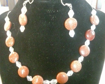 Moonstone Jewelry Set