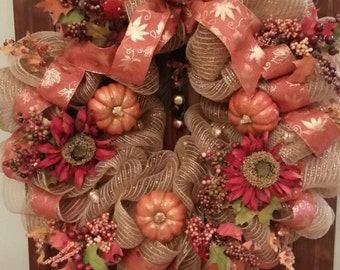 Fall And Holiday Wreaths