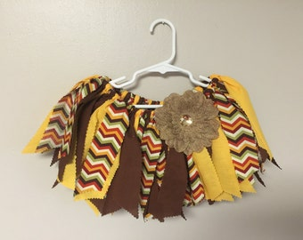 Thanksgiving / Fall Fabric Tutu