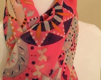 Women silk scarf/wrap