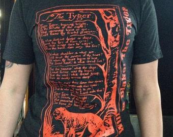 The Tyger by William Blake T-shirt
