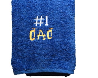 Beautiful Embroidered Bath Towels