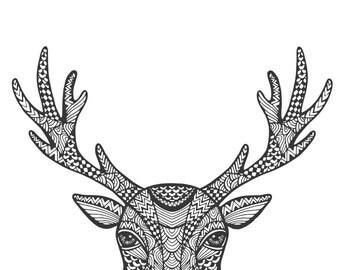 Deer Wall Print - Digital File