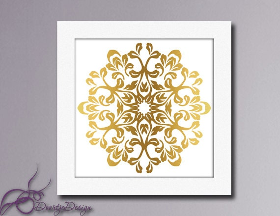Wall Art Gold Printable Art Printable Artwork Printable