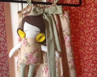 Pillow Case Dress With Matching Little Lyla Doll