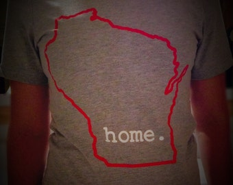 Wisconsin home. T-shirt