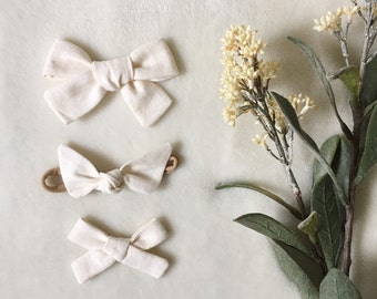 CREAM - Fall Linen Solids | Select Style