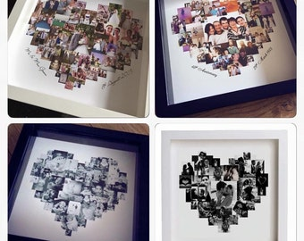 Personalised Photo Collage Picture