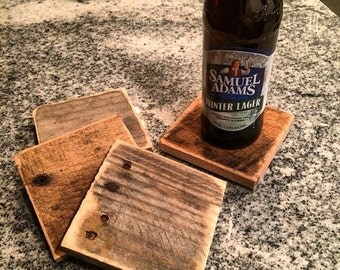 Reclaimed Drink Coasters