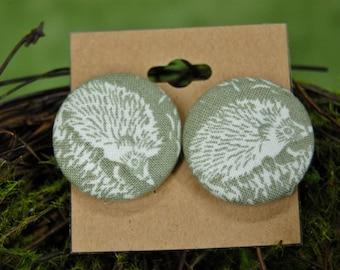 Happy Hedgehog Earrings