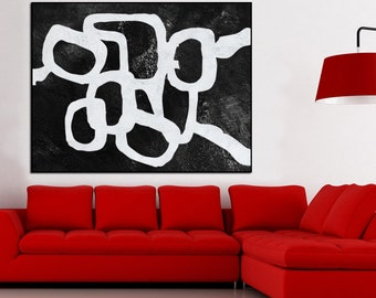 Large Abstract Painting Canvas Art, acrylic Painting Abstract Art, original painting, Modern Art Acrylic Painting,  modern wall decor,