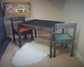 Customized Table and Chair Set For Kids FREE FAST SHIPPING