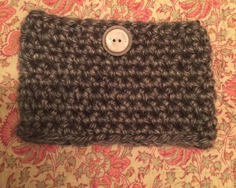 Boot cuffs with button