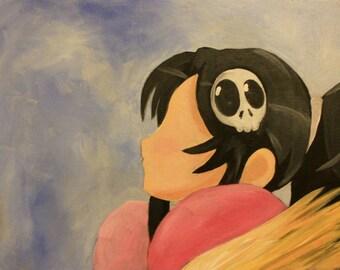 Elsie - Acrylic Painting