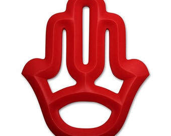 Silicone Hamsa Teething Toy Teether Hand