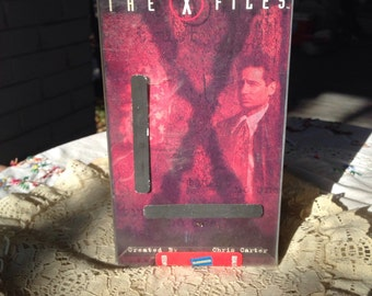 X FILES vhs tape