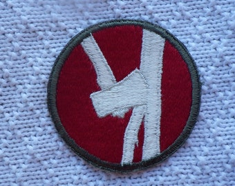 Army WWII 84th Infantry patch