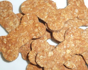 Peanut Butter and Oats Dog Treats