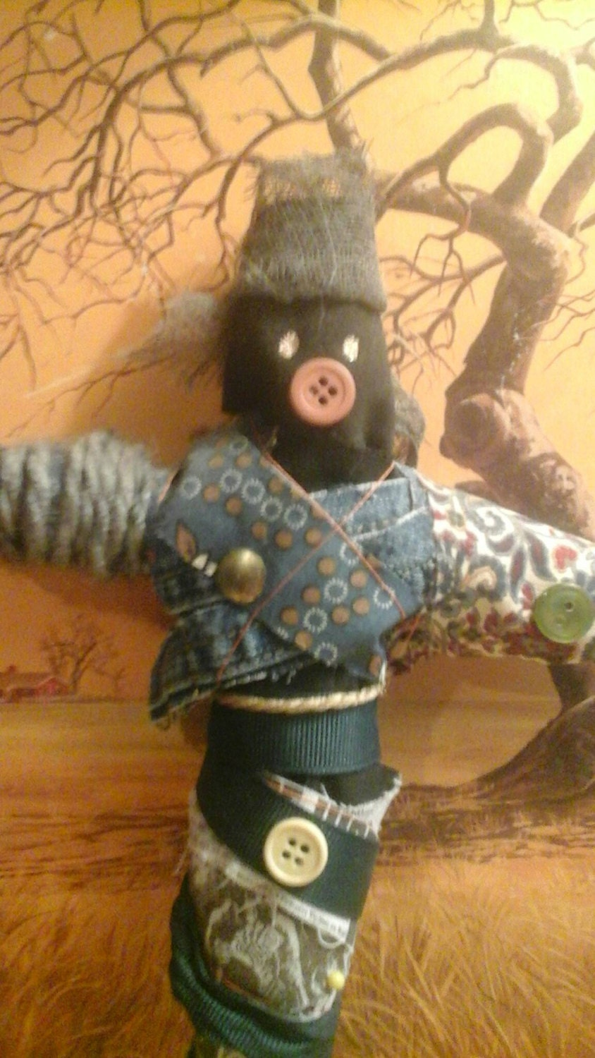 Voodoo Doll 100 % Authentic Handmade