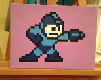 Megaman Painting