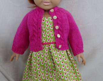 18 inch Doll Sweater and Dress