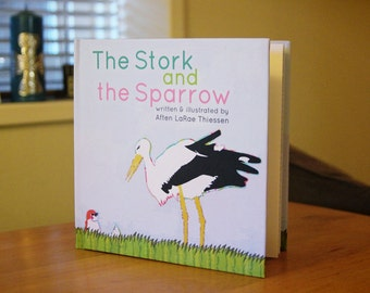 The Stork and the Sparrow (Made in BC Book)