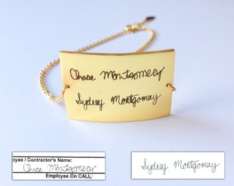 Custom Name Bracelet - Personalized Name - Friendship Bracelets - Bridesmaid Gifts - Quality Silver, Gold, Rose Gold Jewelry