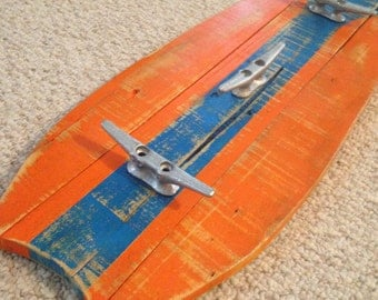 Surfboard coat rack, towel rack, clothes rack, Surf, Clothes Hook