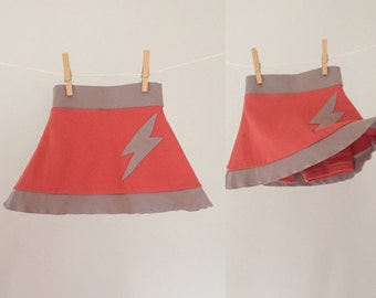 Organic Toddler Skort, size 12-18 months--ready to ship