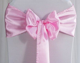 Wedding Sash - Chair Sash, Chair Decor, Wedding Chair Decoration, Chair Ribbon, Chair Bow, Pew Bow, Isle Decoration,