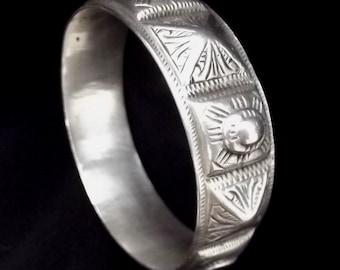 Former bracelet Berber Morocco silver jewellery - silver