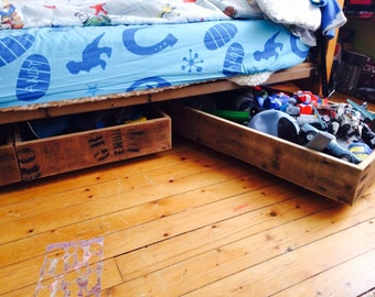 Under Bed Trundle Storage Drawers