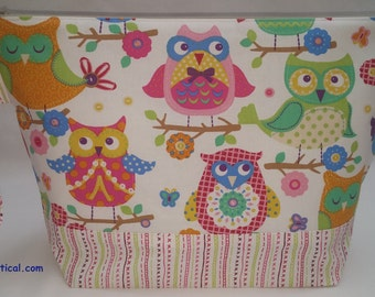 Spring Owl  Large Project Bag