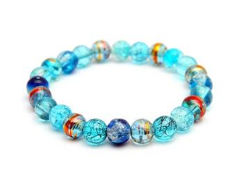 Blue Drawbench Bracelet One of a kind