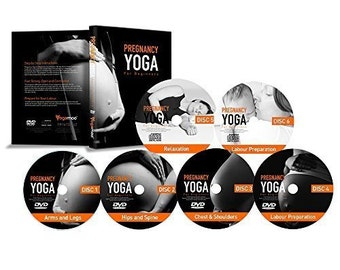 Pregnancy Yoga For Beginners 6 DVD Set - The Only Complete Prenatal Yoga Course.
