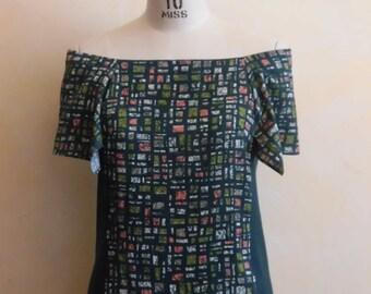 Transformable kimono top