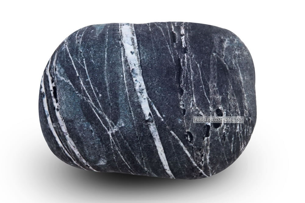Floor Pillows Stones : Rocky Pillow 1912 Nature Stone Floor Cushion Couch