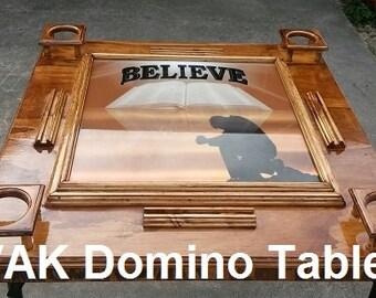 Believe Domino Table