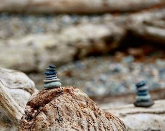 Deception Pass Zen Photo Print