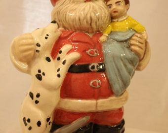 Firefighter Santa Claus