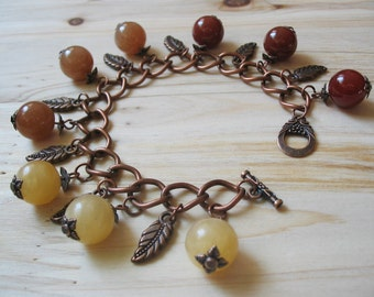 Boho Bracelet-Charm Bracelet-Bohemian Bracelet-Romantic Bracelet-Woman Magic Bracelet-Ethnic Bracelet-Gemstone Bracelet-Beaded Bracelet