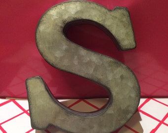 Metal S Letter