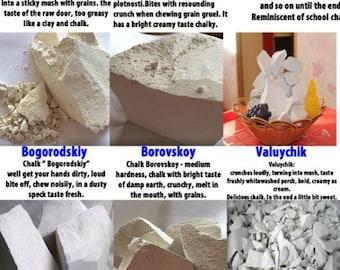 Edible Chalk, Chalk for eat. 5 type 400gr.FREE SAMPLES.
