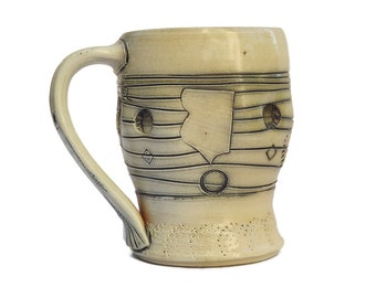 Robert (Bob) and Cheryl Husby Ceramic Whiteware Mug 2 (Duluth, MN)